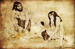 neanderthal_family_by_arheolog